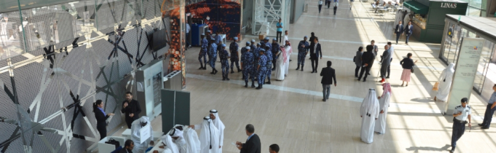 Milipol Qatar entrance
