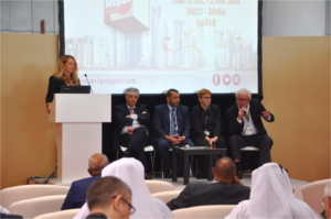 Panel debate related to crisis management - Milipol Qatar 2016