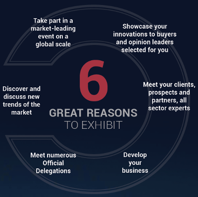 6 great reasons to exhibit to Milipol Qatar