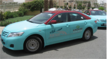 Travel to Milipol Qatar by taxi