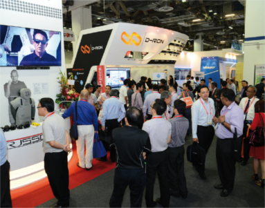 Milipol Asia-Pacific - Exhibitors and visitors