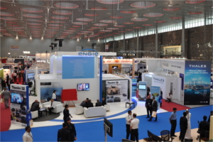 Exhibitors at Milipol Qatar