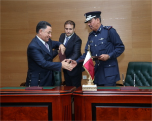 Contracts signed during Milipol Qatar