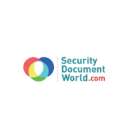 Security document world logo